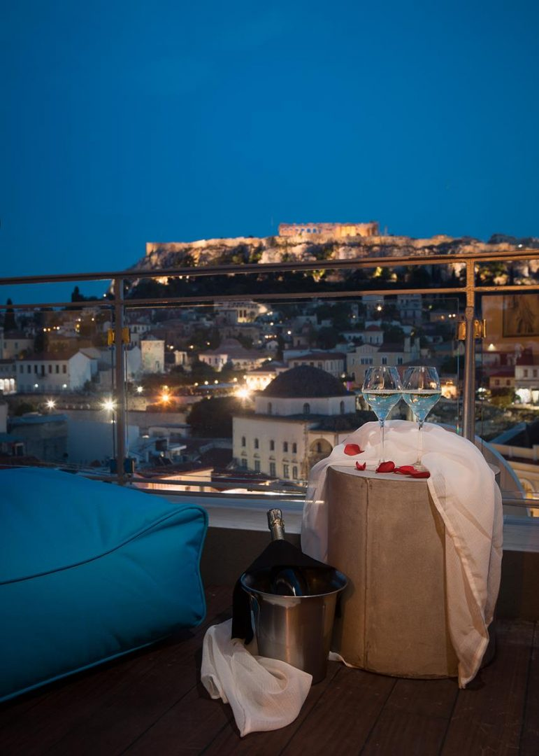 accommodation athens acropolis view - A for Athens